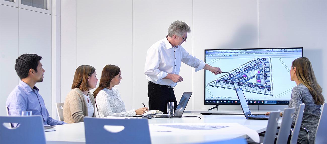Wabe-Plan Architektur Bildung
