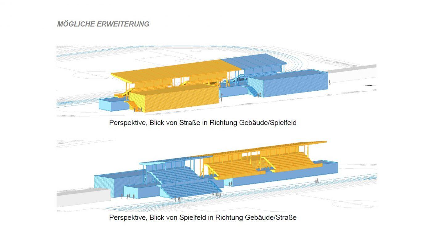 Wabe-Plan Architektur Stadion Festwiese Stuttgart