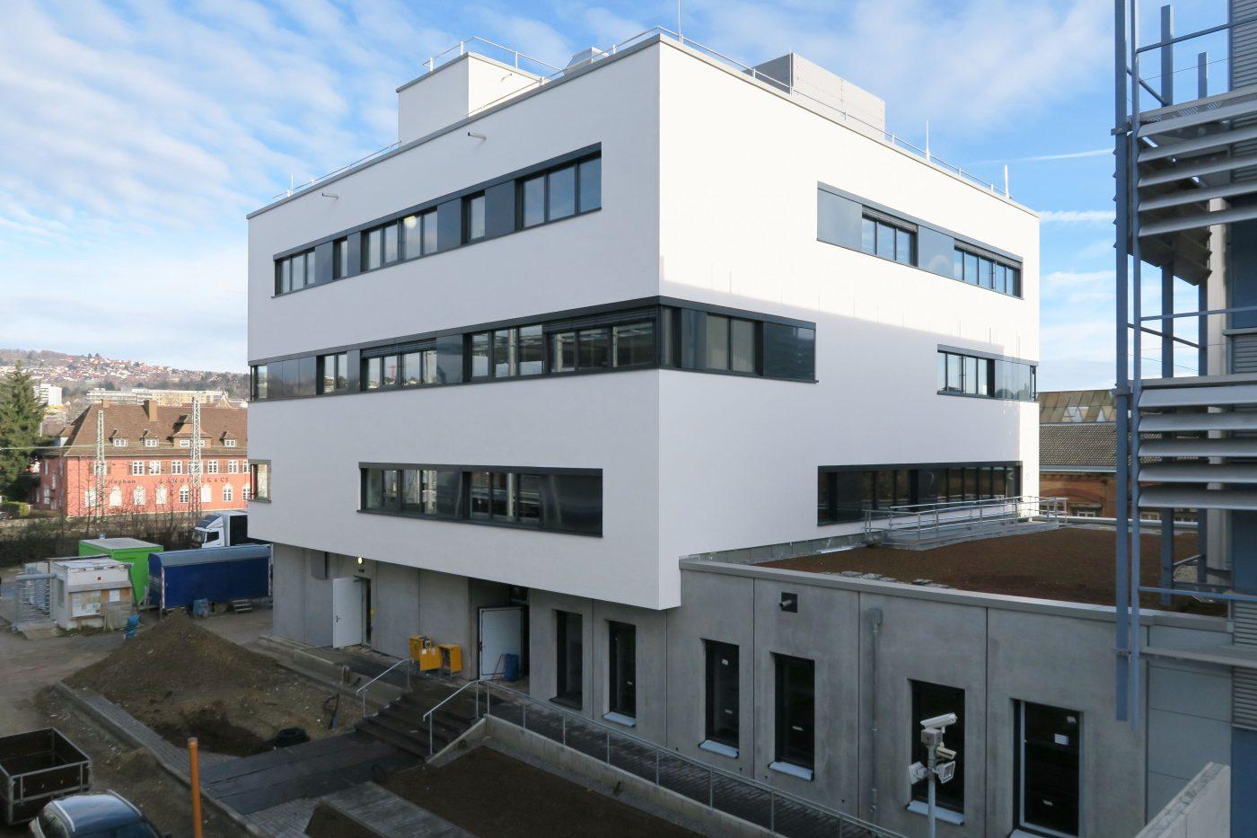 Wabe-Plan Architektur Büro- und Technikgebäude Esslingen