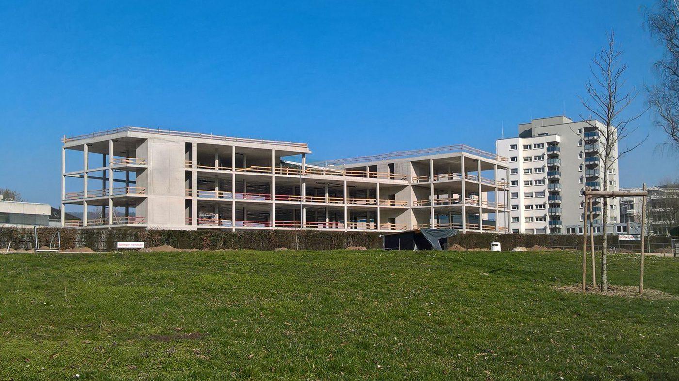 Wabe-Plan Architektur Ausbildungszentrum Esslingen Baustelle