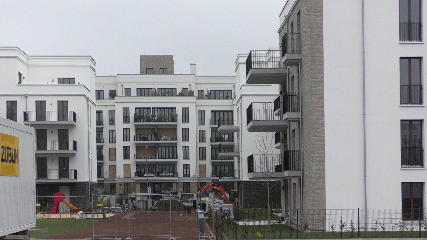 Wabe-Plan Architektur Europaviertel Wohnungsbau FFM