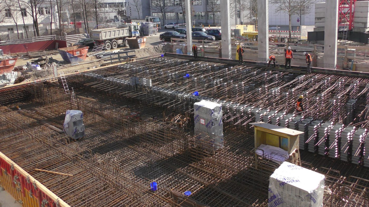 Wabe-Plan Architektur Fahrsimulationszentrum Baustelle