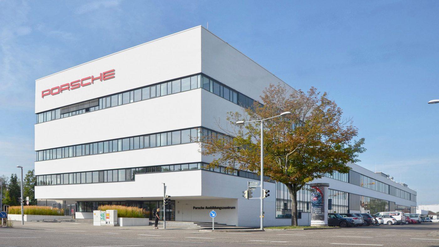 Wabe-Plan Architektur Porsche Ausbildungszentrum Stuttgart