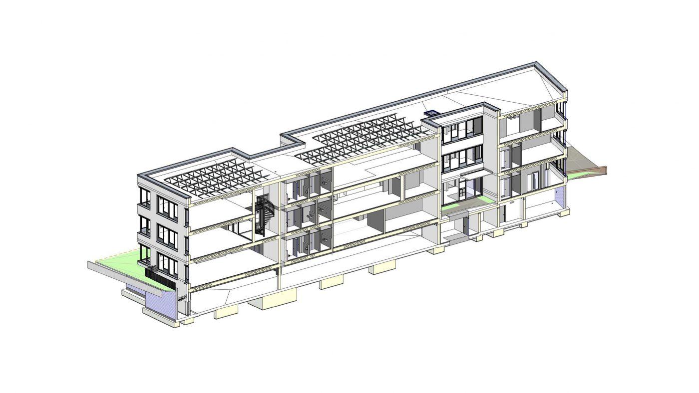 Wabe-Plan Architektur Sofistik Nürnberg 3D BIM