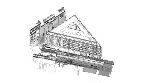 Wabe-Plan Architektur Doppelhotel Stuttgart Revit 3D BIM