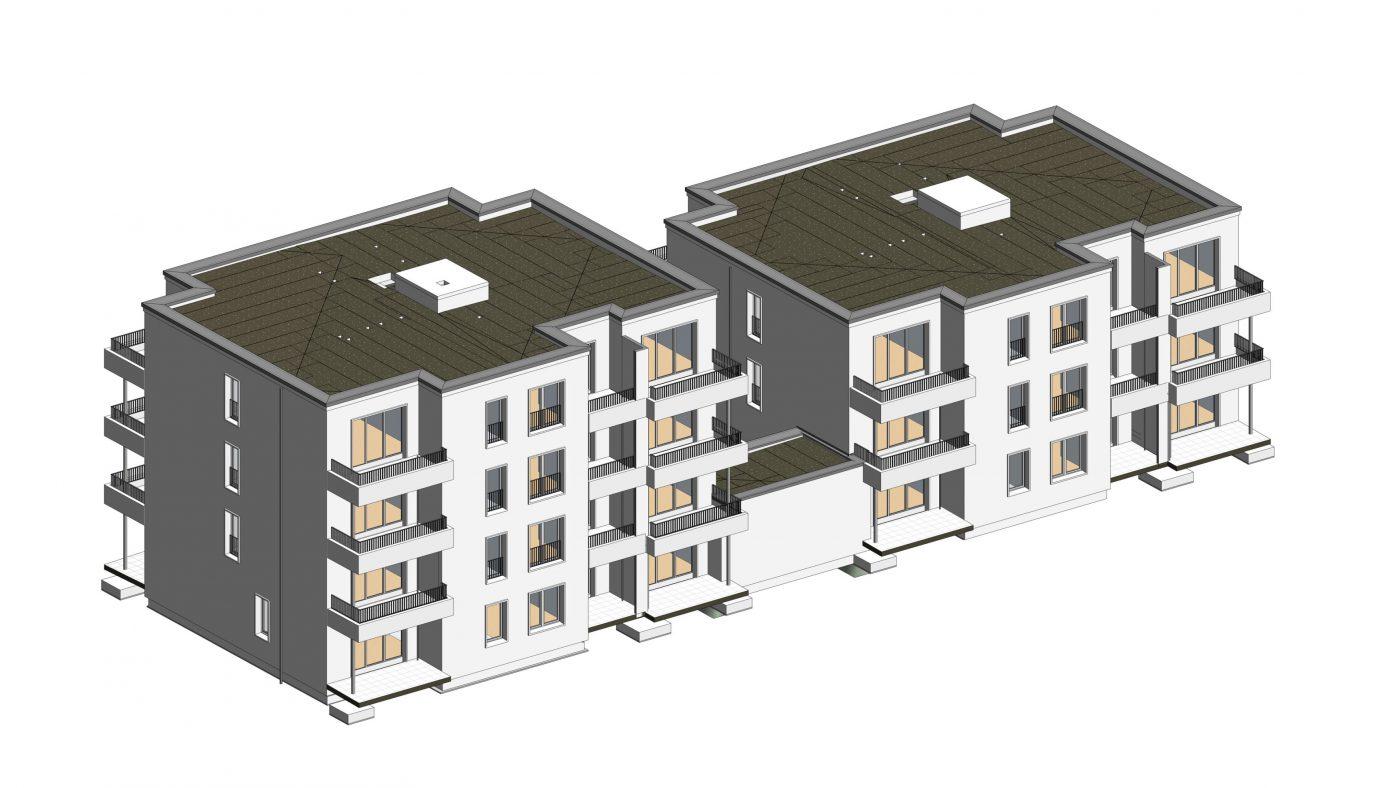 Wabe-Plan Architektur Lesum Duo Bremen 3D