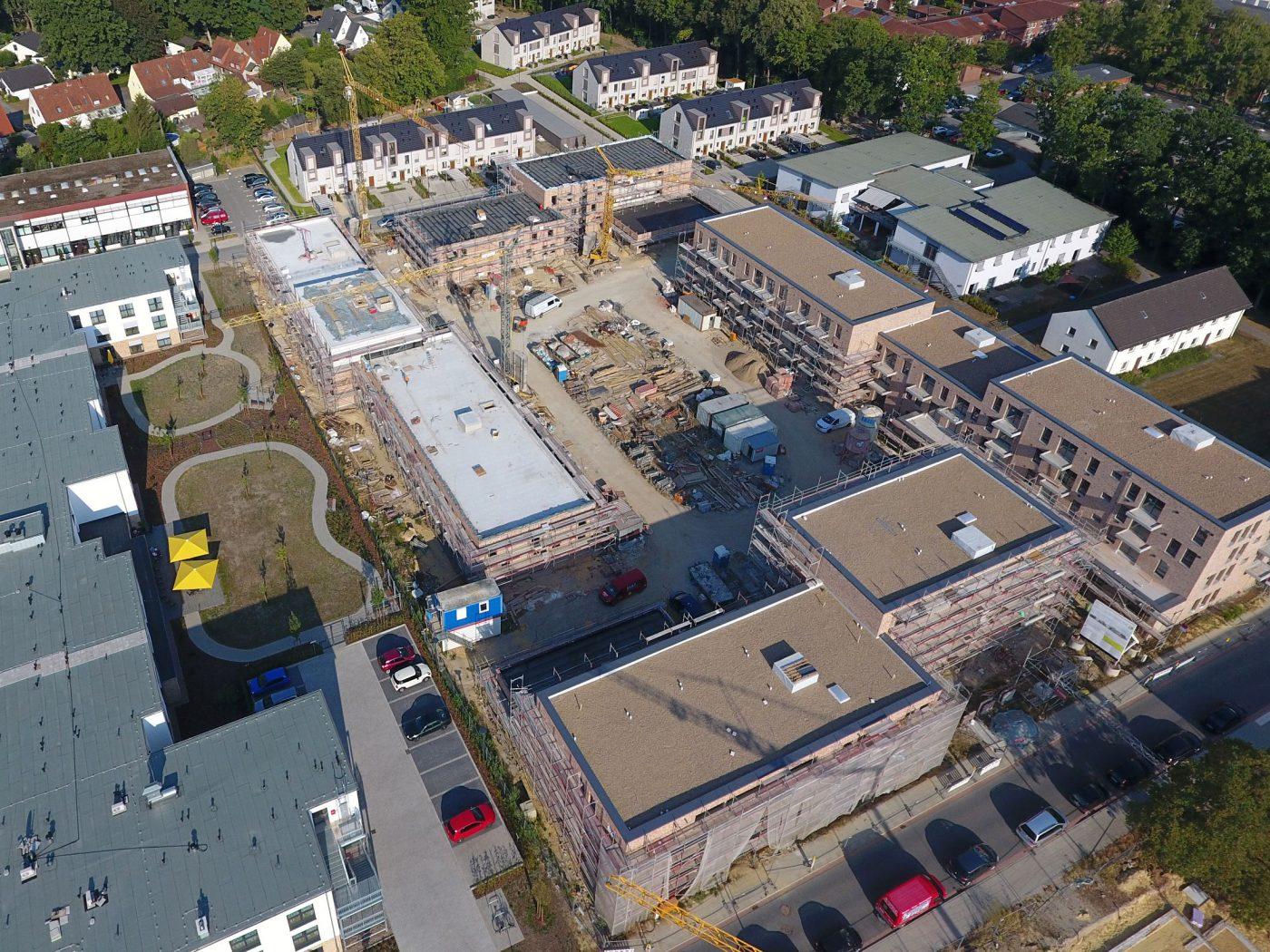 Wabe-Plan Architektur Lesum Park Wohnungsbau Bremen, Baustelle