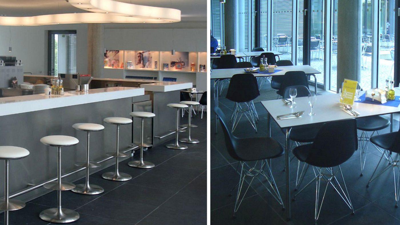 Wabe-Plan Architektur O2 Gastronomie München