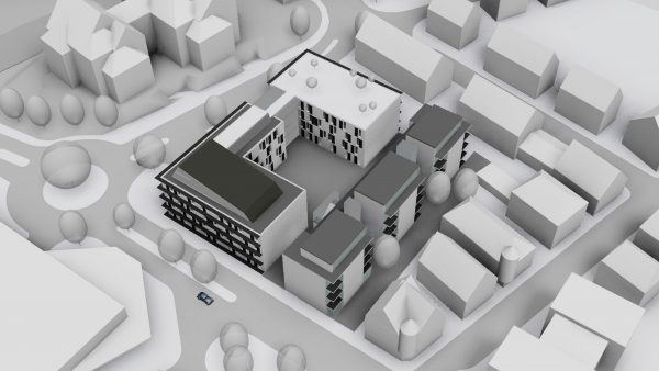 Wabe-Plan Architektur Seniorenzentrum Plochingen Revit 3D