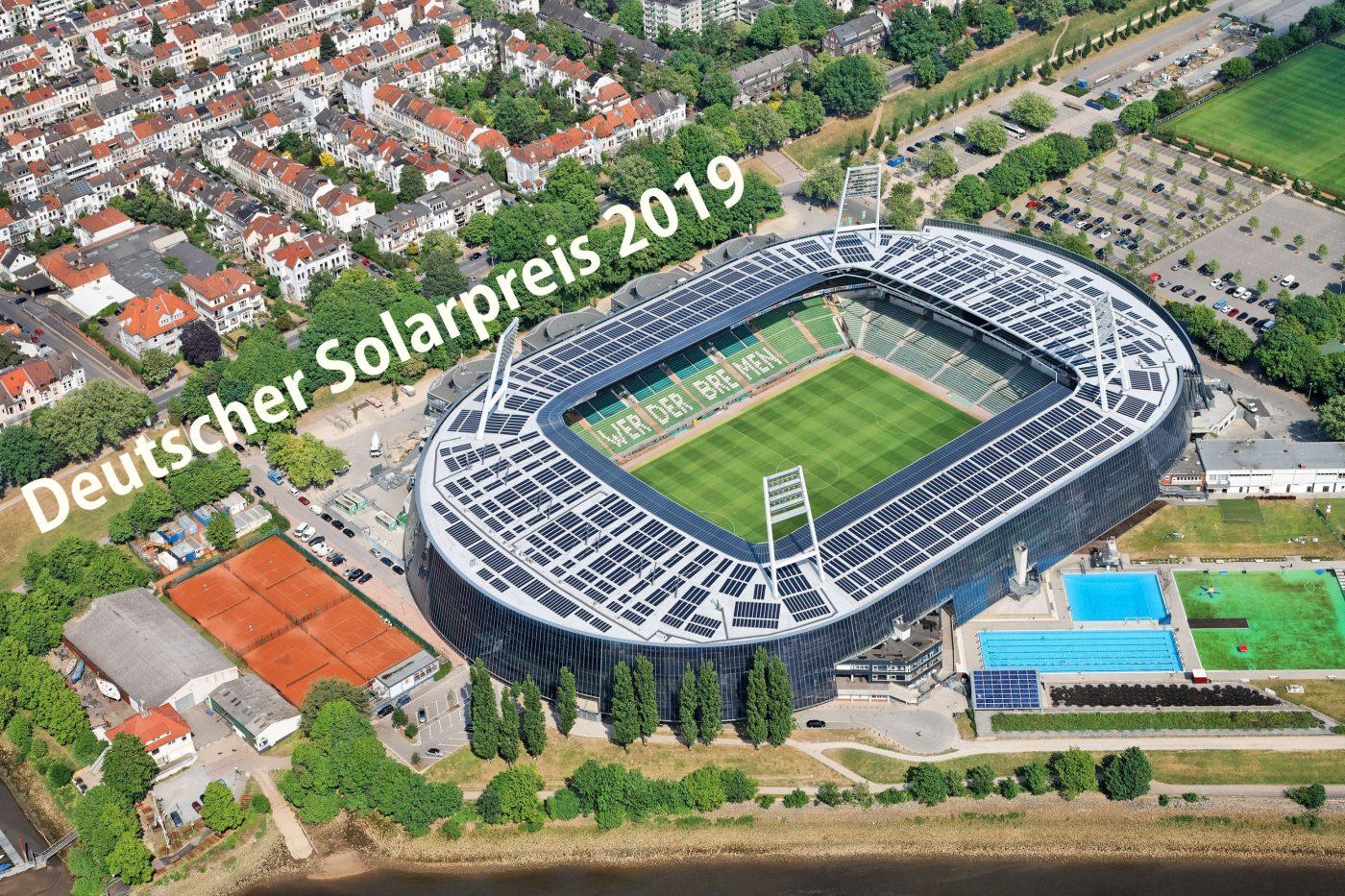 Wabe-Plan Architektur Weser-Stadion Bremen Deutscher Solarpreis