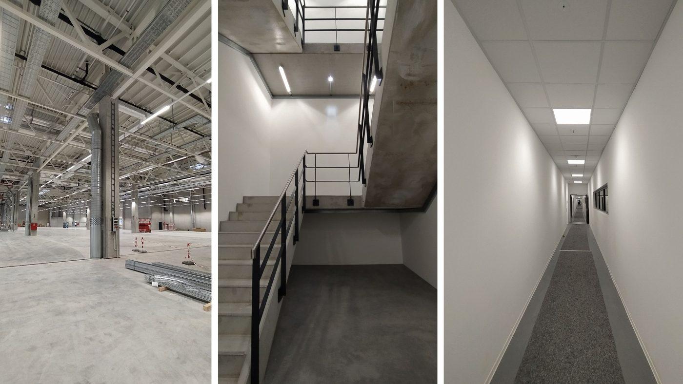 Wabe-Plan Architektur Industriehalle Esslingen Automobilhersteller